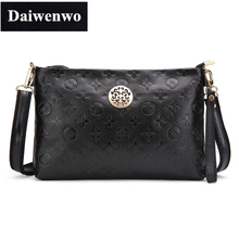 J44 Women Small Handbag Embossed Handbag Ladies Messenger Bags Cowhide Genuine Leather Female Clutch Bag Crossbody Bags for Gift(China (Mainland))