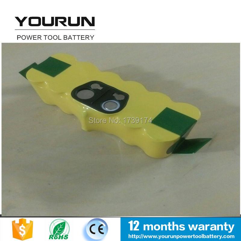 Rechargeable Battery Packs for 14.4v 3500mah ni-mh iRobot Roomba 500 610 Series 530 510 532 550 540 580 80501(China (Mainland))