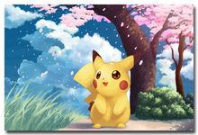 Pocket Monster Poket Pet Japan Anime Art Silk Poster 24×36 – Pikachu 010