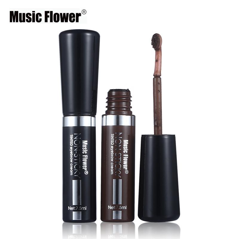 Waterproof Eyebrow Dye Cream Mascara Gel Make Pen Eye Brow Enhancer Long-lasting Cosmetics Brush Music Flower Makeup - IMAGIC Store store