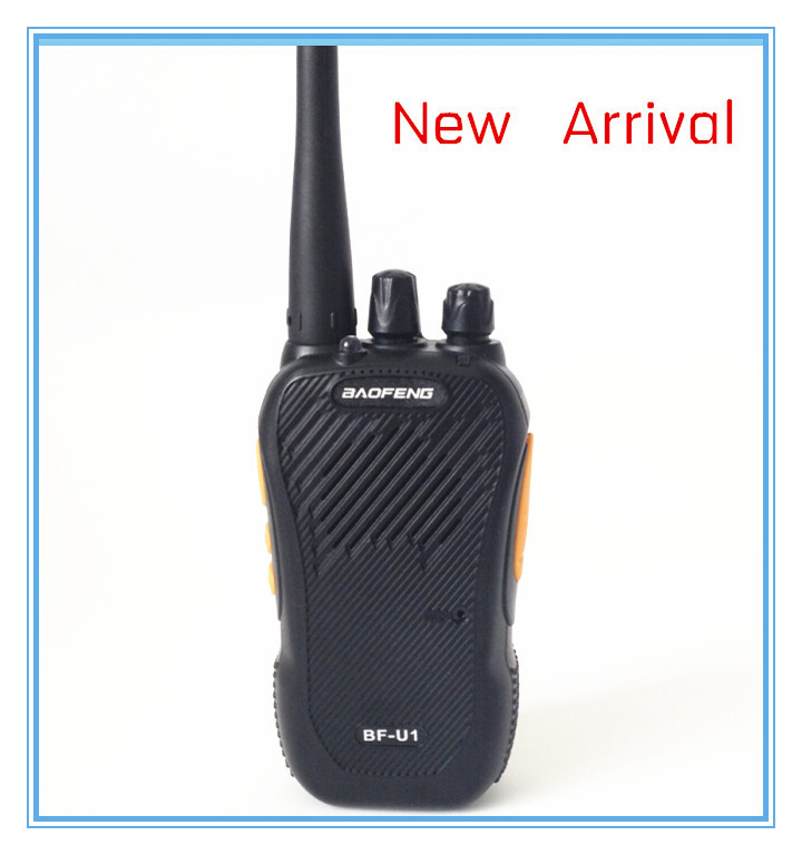 +Free Earpiece Original BaoFeng BF-U1 walkie talkie UHF 400-470MHz High Capacity 2000mAh 5w handheld two way radio - Newell E-Shop store