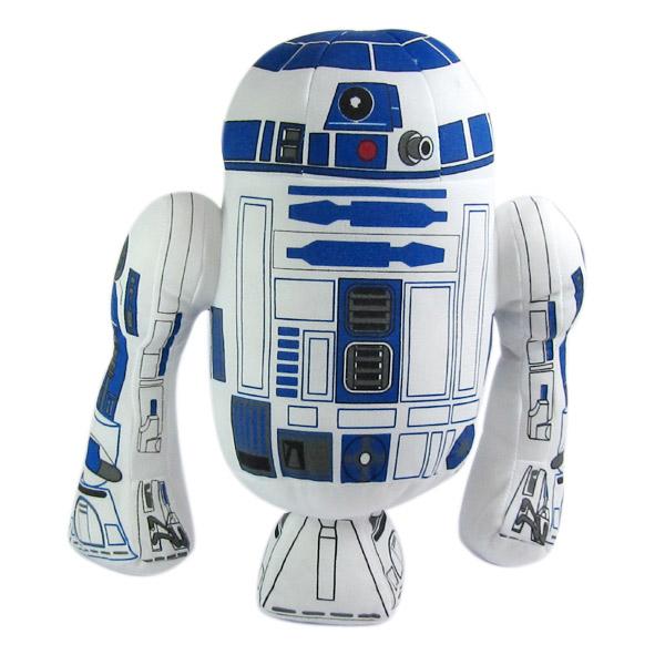 European and American popular movie TV Star Wars R2D2 robot plush dolls dolls 35 cm <br><br>Aliexpress