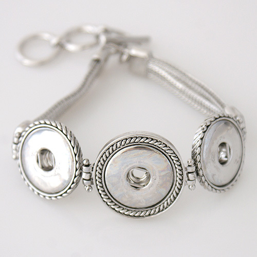 Best seller High quality Interchangeable snap bracelets jewelry for 18-20mm snaps fit ginger snaps KB3335