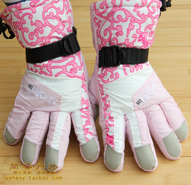 Autumn and winter ski gloves motorcycle women's ride windproof gloves s251