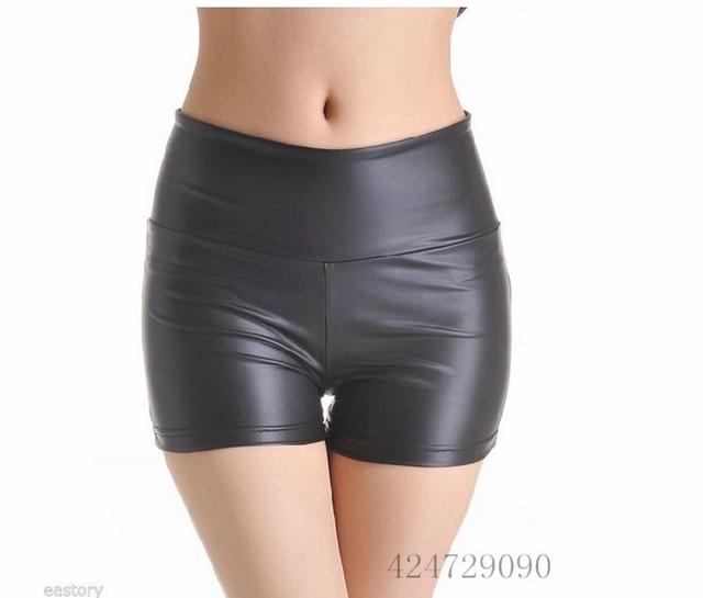 Модный Черный Женщиныs Skinny Brand  Шорты High Талия Sexy 3 Размер S/M/L Retail