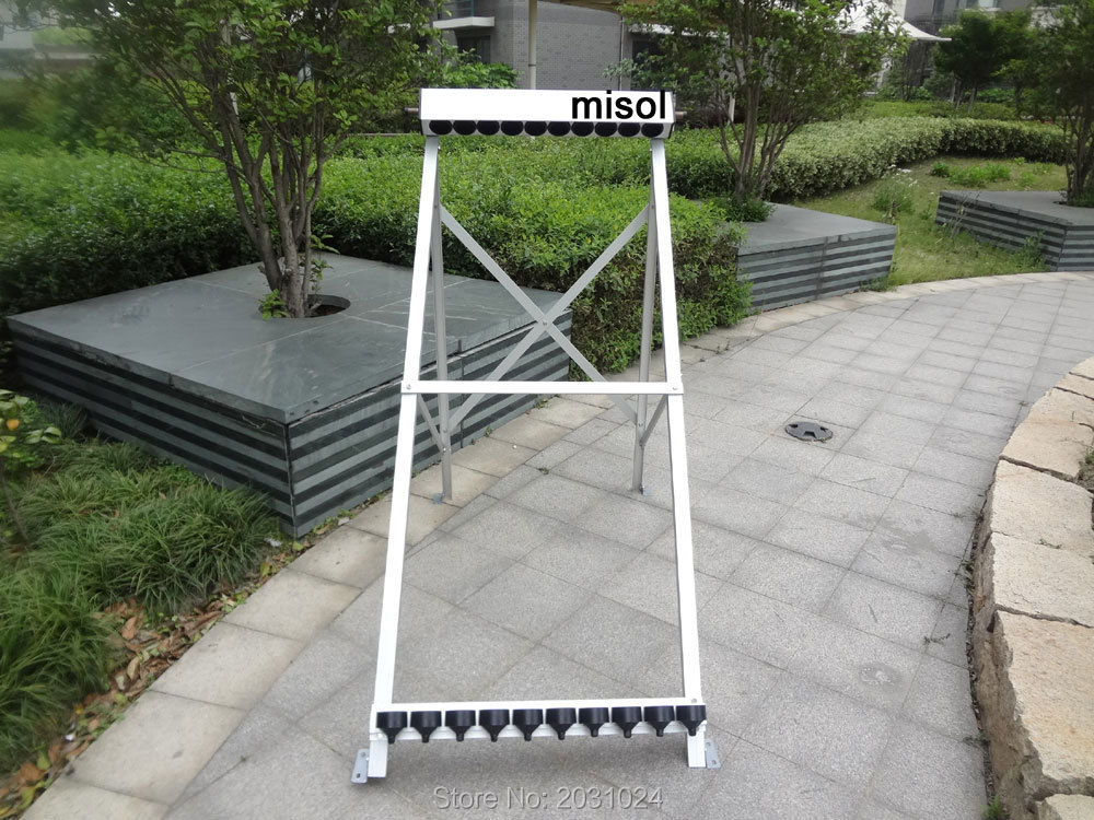 manifold (10 holes) with bracket for solar collector ( tube 58*1800mm), for solar water heater(China (Mainland))