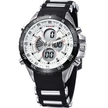 2015 del Relogio Masculino hombres relojes Relogio Feminino lujo Digital llevó el reloj de cuarzo hombres relojes de pulsera Diver reloj del deporte militar