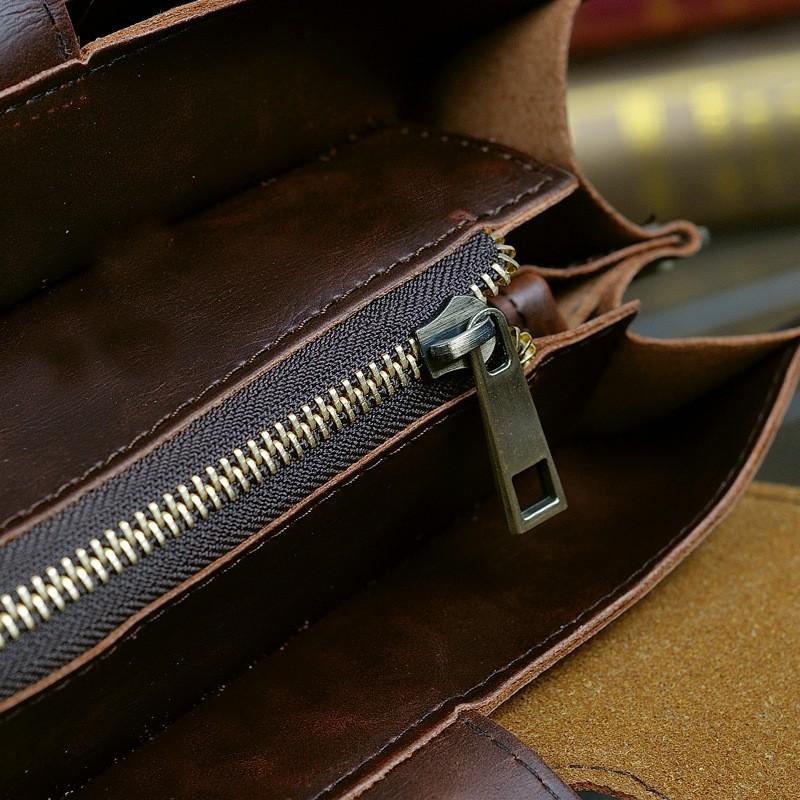 Vintage Men Business Faux PU Leather Briefcase Male Travel Causal Messenger Shoulder Portfolio Laptop Bags Lawer Handbag Bolsa (19)