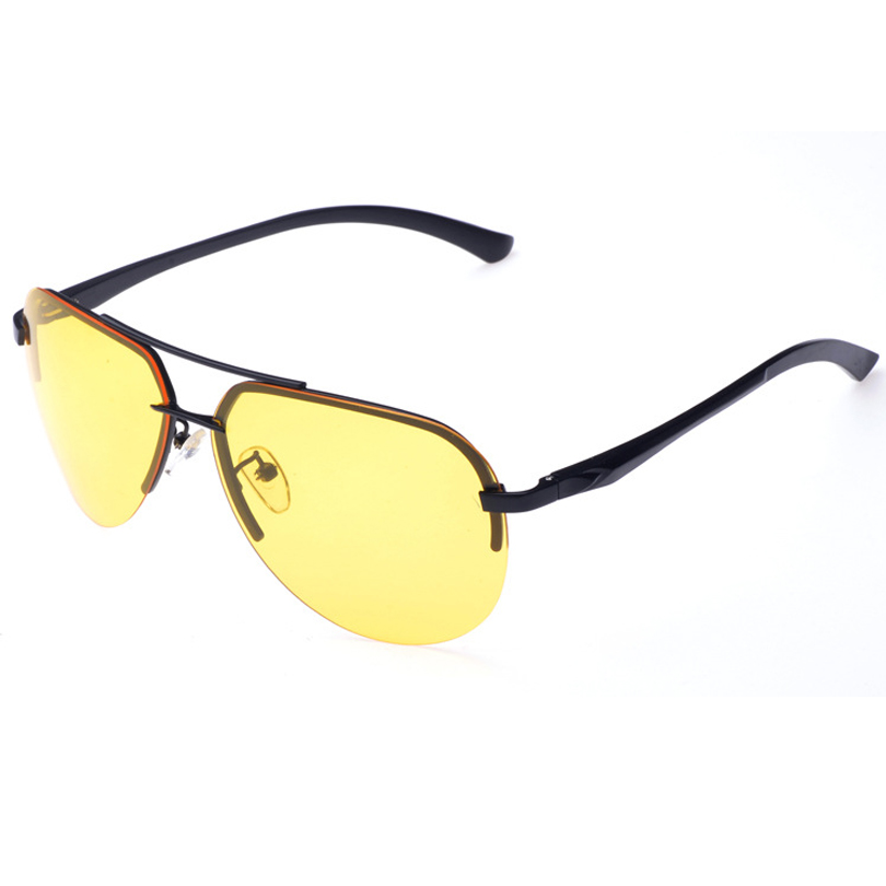 Rimless Glasses At Vision Express : Pilot rimless alloy frame polarized Anti glare driving ...