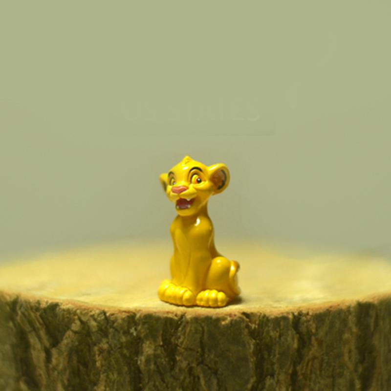 Novo anime PVC figura brinquedos , o rei leão Simba cicatriz 2.5 CM 1 pc frete grátis(China (Mainland))