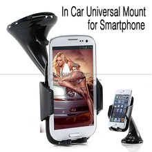 for Motorola Moto G X 2014 Car Holder Suction Windshield for Moto G X 2nd Gen 360 Degree Rotating Stand Kits with Retail Packing(China (Mainland))