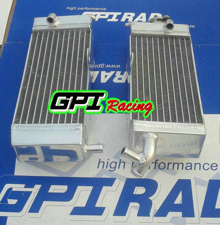 aluminum racing Radiator FOR YAMAHA YZ250 YZ 250 92 / WR250 WR 250 1992-93 1993 motocross aftermarket radiator(China (Mainland))