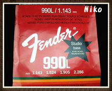 New 990L Electric Bass Strings 4 Steel Stings 045-090 Free Shipping Wholesales(China (Mainland))