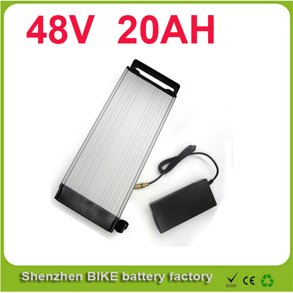 48V 20ah Electric bike/bicycle battery Lithium ebike/ luggage battery 48V 20Ah +charger/ 48V battery pack For Samsung 26F pack(China (Mainland))