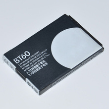 3.7v 1100mAh Mobile phone Lithium-Polymer Backup Rechargeable cell phone Battery BT60 For Motorola A3000 / ME502 / Q8