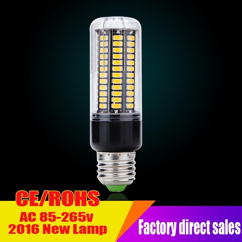 Led bulb E27 Led lamp B22 E14 3W 5W 7W 8W 12W 15w SMD 5736 85-265V Wide voltage lights Corn Bulbs lamp Lampada constant current(China (Mainland))