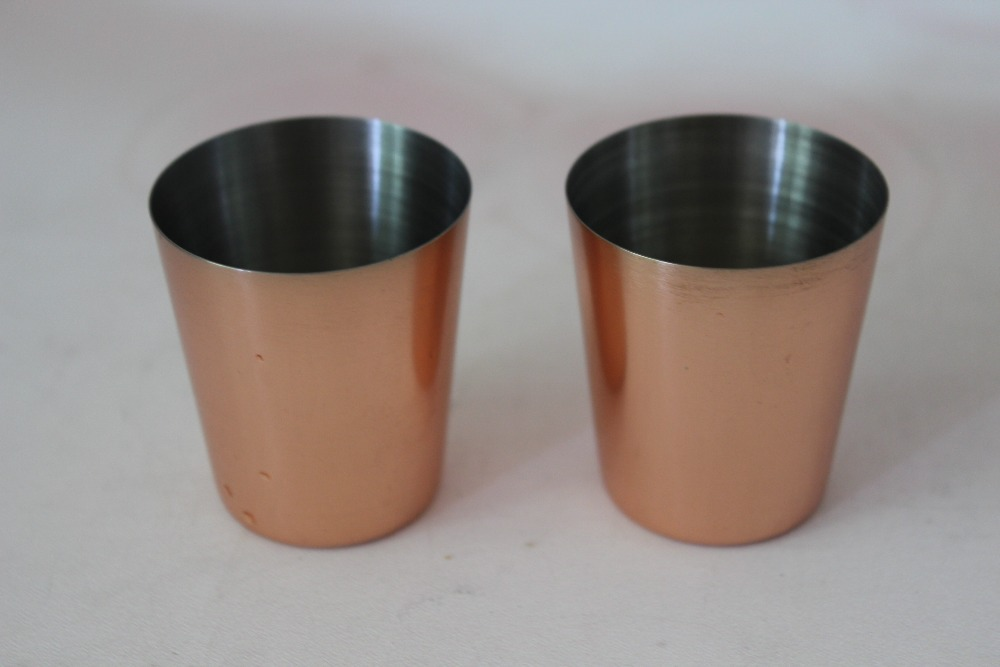 45ml Solid Copper Barrel Mule Mug ,vodka copper mug, beer copper tumbler,copper pint cup(China (Mainland))