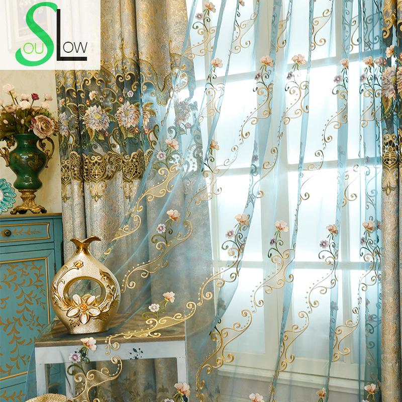 Compare Prices On Peacock Blue Curtains Online Shopping Buy Low Price Peacock Blue Curtains At