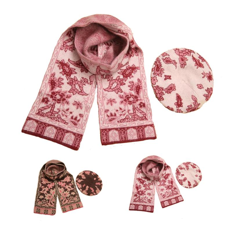 Женские шарфы, Шапки, Комплекты OEM 2 & 20 102676_7