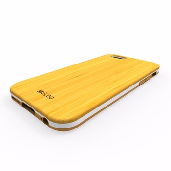 Etui plecki do iPhone 6 / 6s drewno bambusowe + sylikon