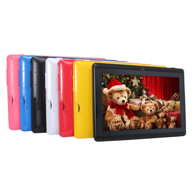 HOT !!!7 inch ATM7029 Android 4.4 tablet +Quad Core+Dual Camera 512MB+8GB+ WIFI+Bluetooth Capacitive Screen cheap Tablet PC(China (Mainland))