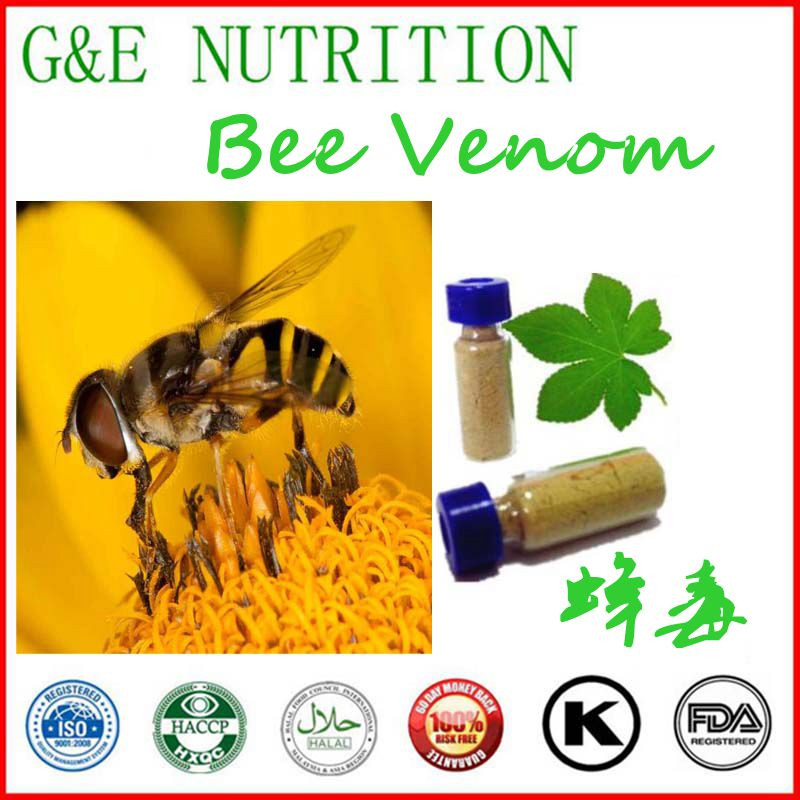 Фотография 100% Natural High quality pure Bee Venom powder 6 gram/bottle