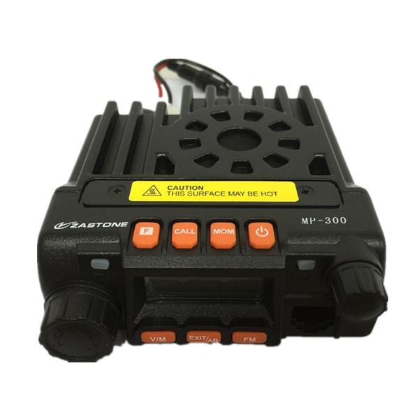 Бесплатная доставка 2015 новые Zastone мобильной радиосвязи MP300 20 Вт мини Moblie радио 136 - 174/400 - 480 мГц автомобильный радиоприемник MP-300