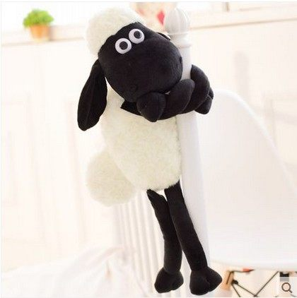 Hot Selling 25cm Size Cute Shaun Sheep Lamb Plush Toys Doll For Girl Children(China (Mainland))
