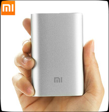 The Newest 100% Original Xiaomi updated power bank 10000mAh external battery pack portable charger USB output For phones pad