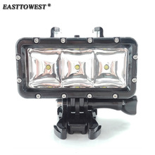 Buy Easttowest 30m Diving Waterproof LED Video Flash Fill Light Gopro Hero 4 3 Xiaomi Yi Sjcam Sj4000 Sj7000 Action Camera for $27.16 in AliExpress store