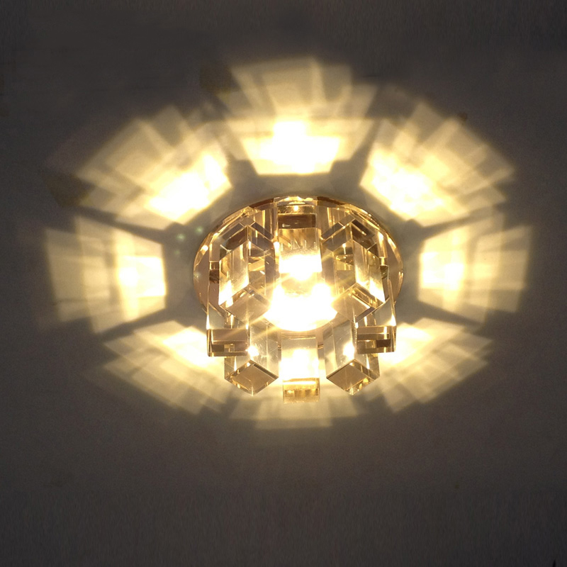 LED crystal ceiling lamp LED corridor lamp corridor entrance ceiling lamp