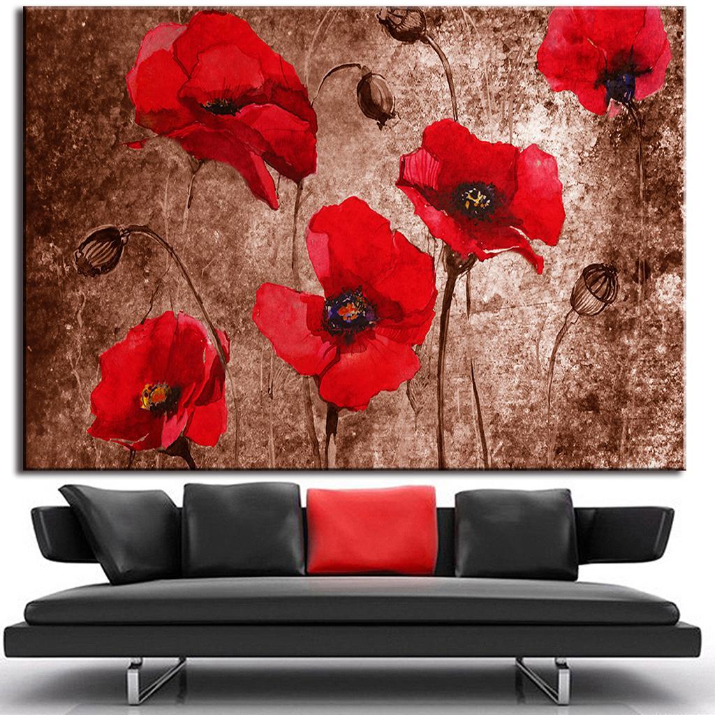 red poppy promotion shop for promotional red poppy on. Black Bedroom Furniture Sets. Home Design Ideas