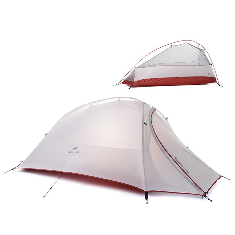 Naturehike Zelt 1 Person : Naturehike person tent double layer camping
