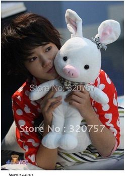 "New 55cm Cleanrance High quality Pig Rabbit Doll -SBS Drama ""u'r so beautiful"
