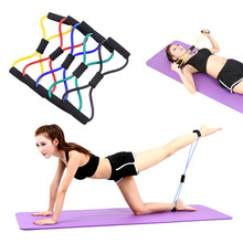 Buy Rubber Latex Resistance Training Bands Yoga Comprehensive Fitness Exercise 8 Type New Stretch Rope Tube Workout Exercise for $1.50 in AliExpress store