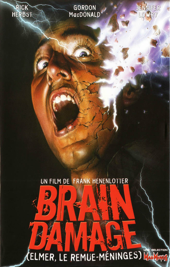 BRAIN DAMAGE Frank Hennonlotter Gore Slasher VHS Basket Case Rare (2) Movie Art Wall Decor Fabric Poster P0268(China (Mainland))