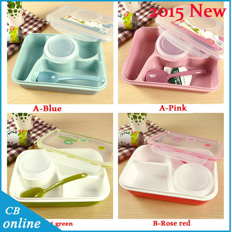2015 new arrival 1piece bento lunch box microwavable lunchbox bento box free shipping kids lunch. Black Bedroom Furniture Sets. Home Design Ideas