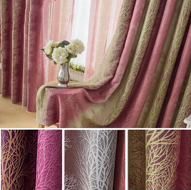 Buy 4m multi color full blind curtain for M s living room curtains