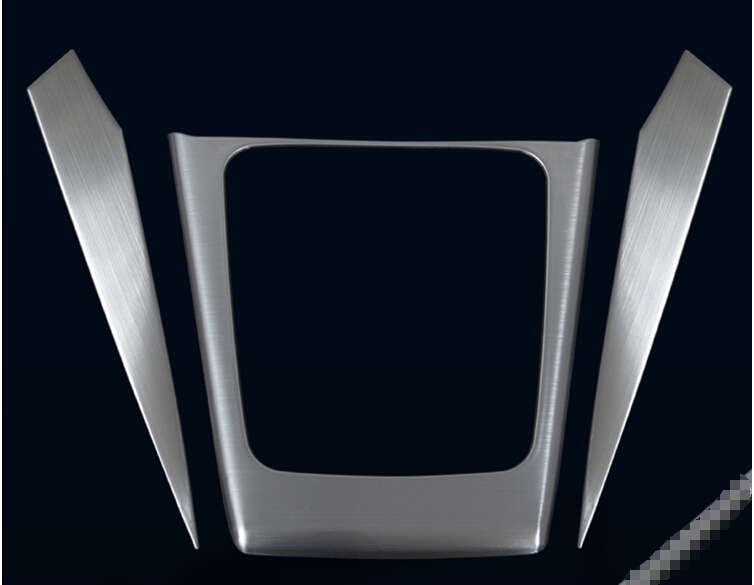 Gear Box Panel Cover Interior Trims 3pcs / set For Subaru Forester 2013 2014(China (Mainland))