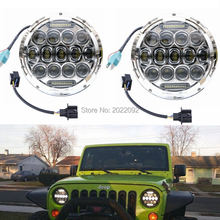 75w Headlamp 7 inch Inchs Wrangler Led Headlight DRL Jk Tj Fj Cruiser Trucks Road harley Lights - FACTORY DIRECT SALE CAR LED store