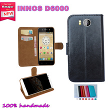 Hot Sale! INNOS D6000 Case 7 Colors Luxury Vintage Dedicated Flip Leather Exclusive Cover Smart Phone+Tracking