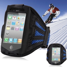 Cost-effective Running SPORTS Armband Case for Iphone 4 4s 4g Breathable Net Design GYM Smartphone Cover Arm Band For Iphone 4