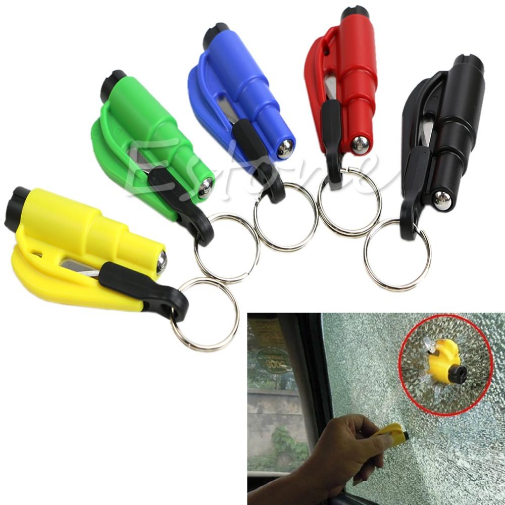 1 шт. автомобиль безопасности в молоток ремень стеклобой брелок побег мини-инструмент бесплатная доставка