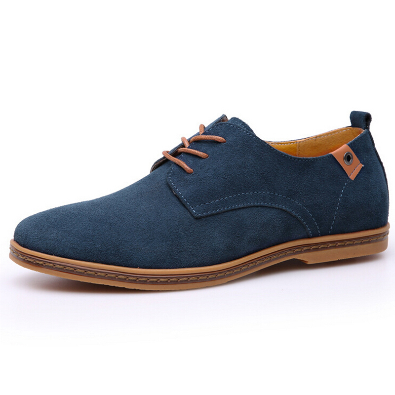 men shoes new spring and autumn fashion casual Flats Shoes oxford shoes casual shoes suede solid Colourful plus size,LB1548