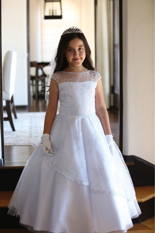 2016 beautiful girls first communion dresses for formal. Black Bedroom Furniture Sets. Home Design Ideas