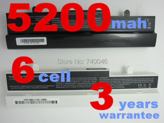 [Special Price] New 6 cells Laptop battery For Asus Eee PC 1015 1016 Series,Replace: A31-1015 A32-1015 battery, Free shipping(China (Mainland))