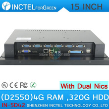 """Industrial-grade touch screen embedded 15 inch LED all in one computer 6 * COM LPT Tablet PC 15"""" production control 1024*768(China (Mainland))"""