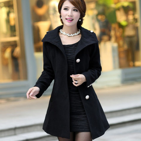 Female long coat – Novelties of modern fashion photo blog
