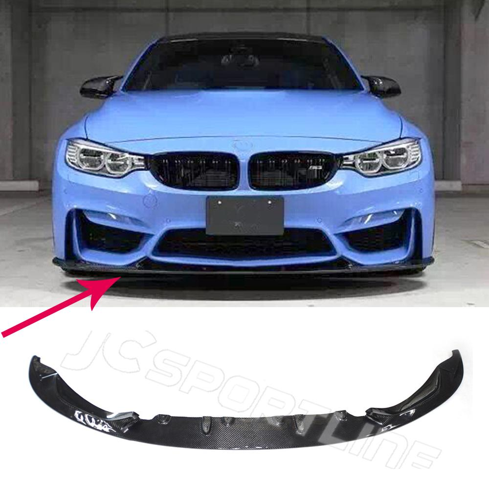For BMW F80 M3 4Door F82 M4 2Door Front Bumper Lip Spoiler 3D Style Carbon Fiber Car Styling 2015<br><br>Aliexpress