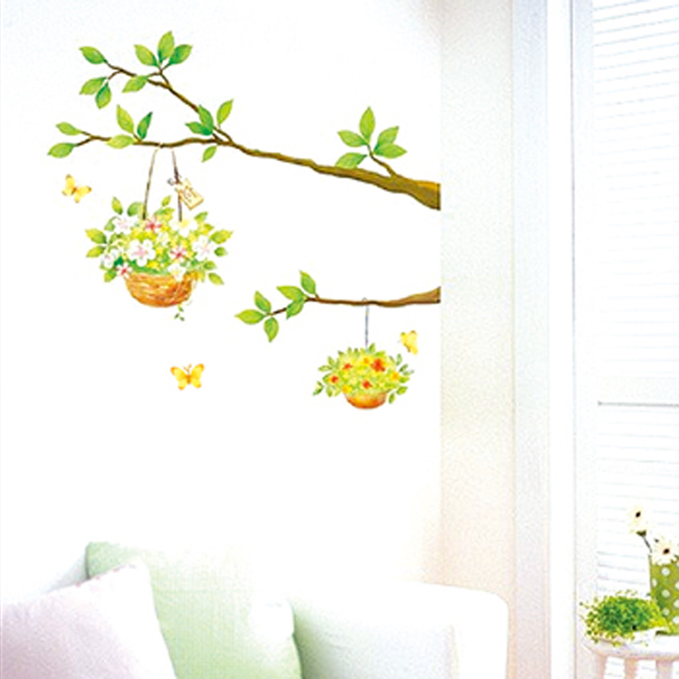 Decorative Hanging Flower Baskets : New hot product for decorative hanging flower basket home
